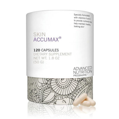 Nutritional supplement to promote healthy skin - Skin Accumax Advanced Nutrition Programme