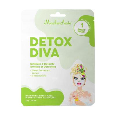 MaskerAide Masque Tissu Détoxifiant Detox Diva
