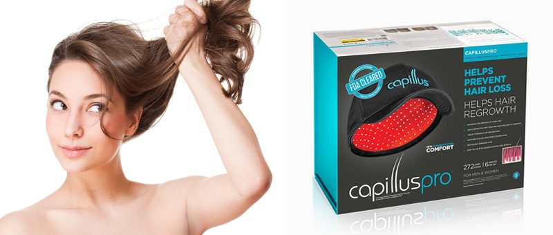 The solution to stop hair loss : Capillus