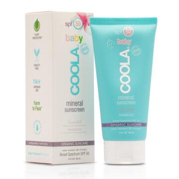 COOLA Écran Solaire Minéral Bébé Hydratant FPS 50 - Inodore
