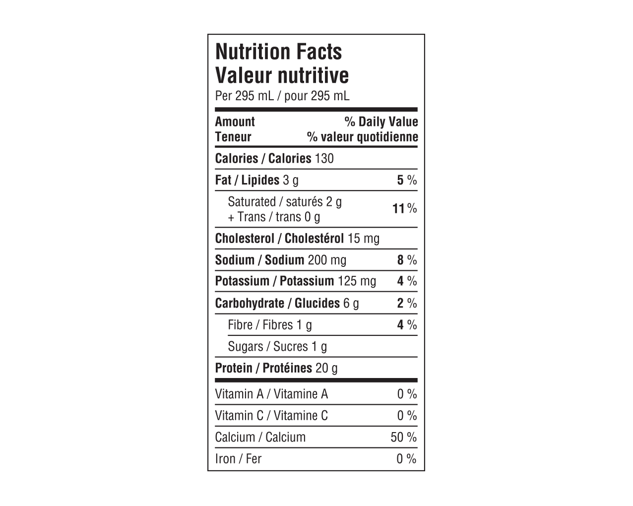 IdealProtein-Boisson-cappuccino-Prête-à-servir-Valeur-Nutritive