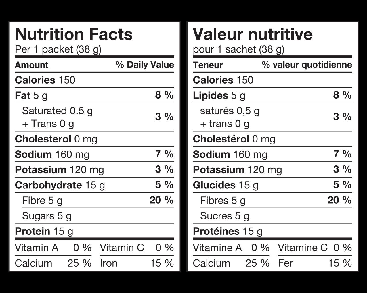 IdealProtein-Boules-de-soja-aux-pommes-et-cannelle-Valeur-Nutritive
