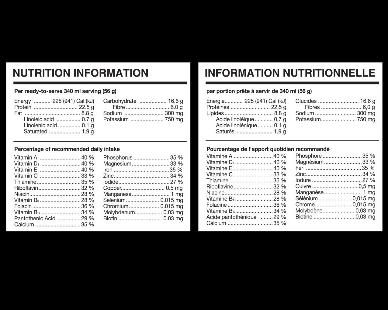 IdealProtein-Ideal-Complete-Préparation-pour-boisson-au-chocolat-Valeur-Nutritive