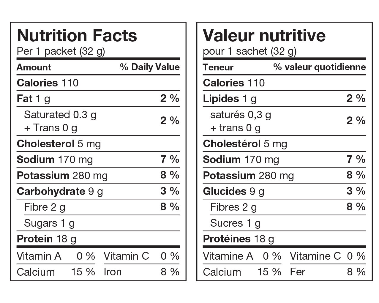 Ideal Protein Préparation Pour Gruau Aux Pommes Valeur Nutritive