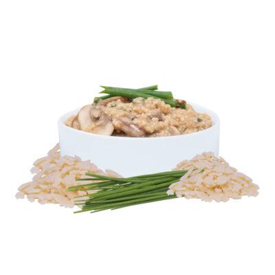Ideal Protein - Risotto de couscous avec champignons et parmesan