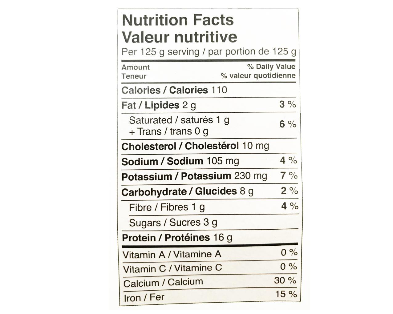 Ideal Protein Pouding au chocolat prêt à servir - valeur nutritive