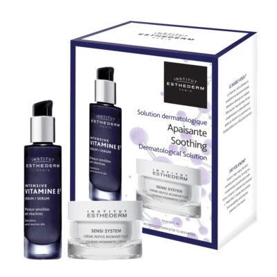 Esthederm Coffret Duo Intensive Apaisant - Vitamine E2 et Sensi - EQlib Medispa