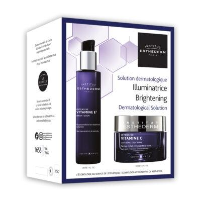 Vitamine E² & Vitamine C serum and cream Brightening Duo by Esthederm