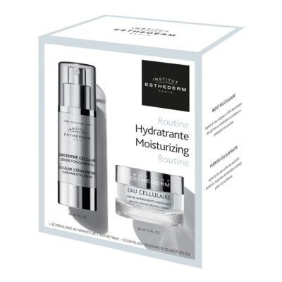Esthederm Routine Hydratante Eau Cellulaire EQlib Medispa