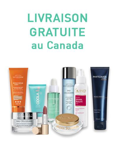 Cosmétiques Livraison Gratuite au Canada