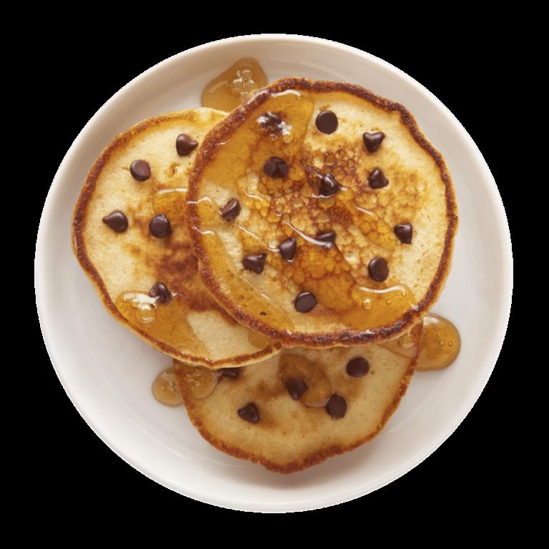 Pancakes aux brisures de Chocolat I