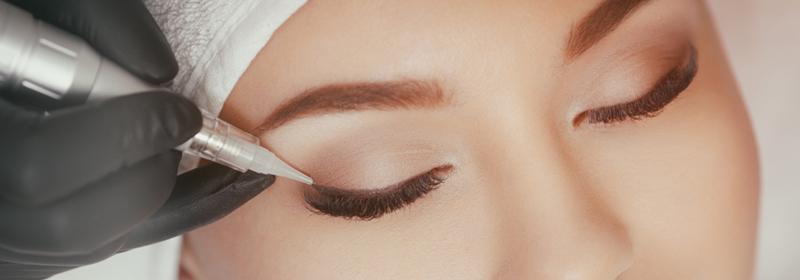 Maquillage Permanent Eyeliner, Sourcils et Contour des lèvres