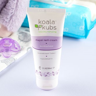 Crème pour érythème fessier Koala Kubs Diaper rash cream - EQlib