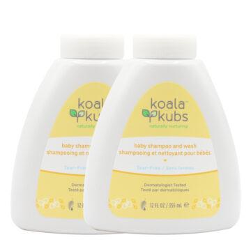Shampooing Bébé Naturel 2 en 1 Koala Kubs – Double