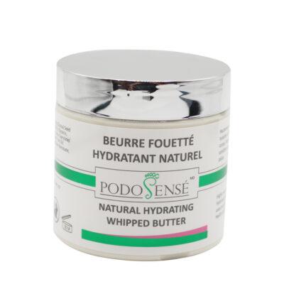 Beurre fouetté hydratant naturel pour les mains et les pieds - PodoSensé