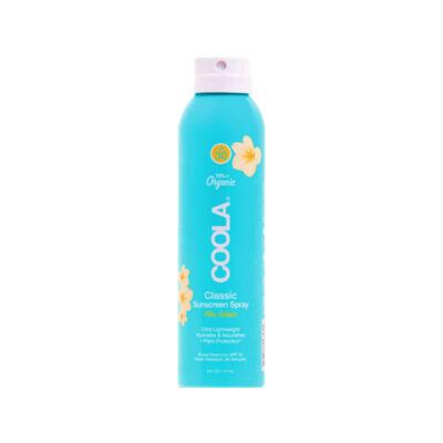 COOLA Écran Solaire Spray Corps – FPS30 – Pina Colada