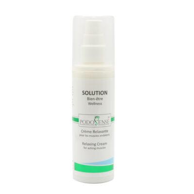 Crème relaxante pour les muscles endoloris - Solution Bie-être - PodoSensé