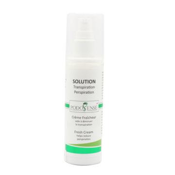 Fresh cream helps reduce perspiration - PodoSensé
