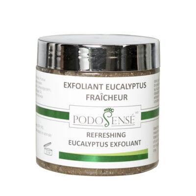 Refreshing eucalyptus exfoliant for feet - PodoSensé