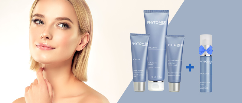 Acne Control Treatment + Anti-acne routine by Phytomer