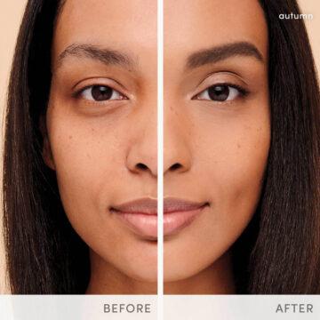 Before-After Amazing Base Jane Iredale - Medium Shade