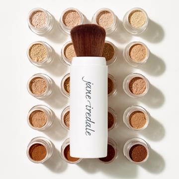 Loose Mineral Powder Amazing Base® SPF 20/15 + Refillable Brush – Jane Iredale