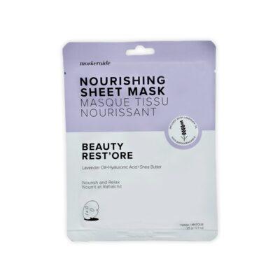 MaskerAide Masque Tissu Nourrissant Beauty Rest'ore