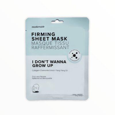 MaskerAide Masque Tissu Raffermissant - I Don't Wanna Grow Up